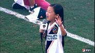 7歳少女の国歌斉唱が圧巻 / 7yo girl's anthem
