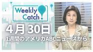 4月30日 Weekly Catch!