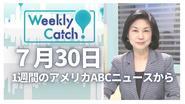 7月30日 Weekly Catch!