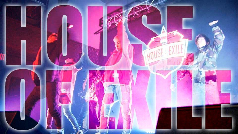 世界のトップパフォーマーが集結!「HOUSE OF EXILE」