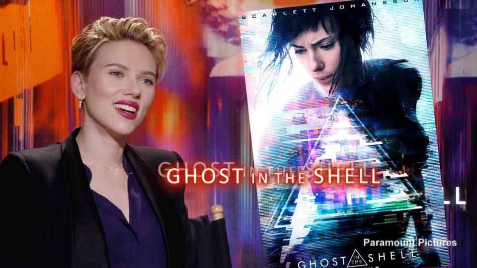 日本のSFアニメの金字塔の実写映画版 Ghost in the Shell