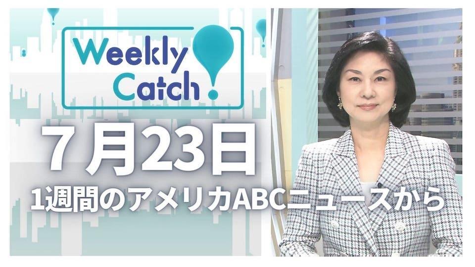 7月23日 Weekly Catch!