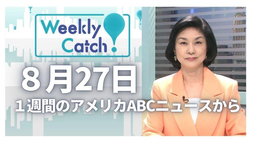8月27日 Weekly Catch!