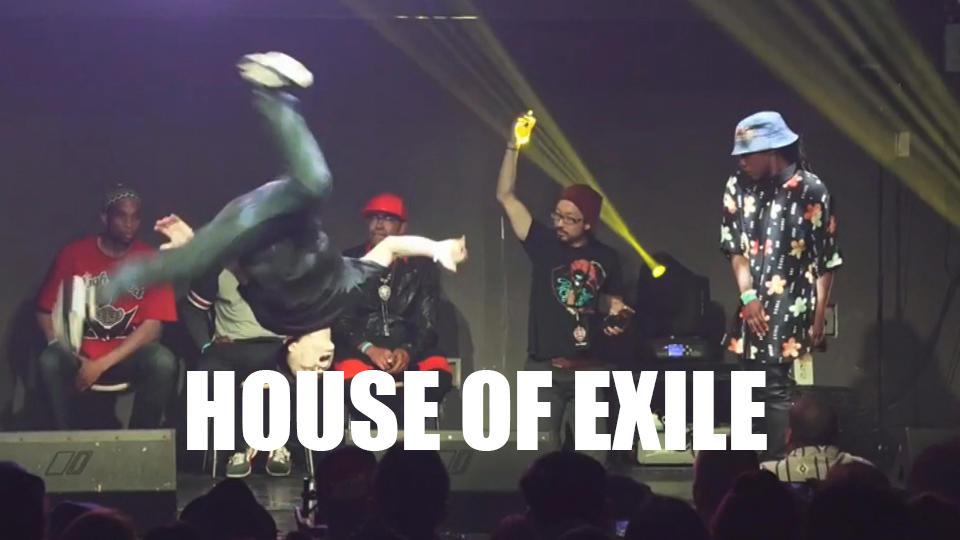 ストリートダンスの一大イベント「HOUSE OF EXILE 」が今週末開催!