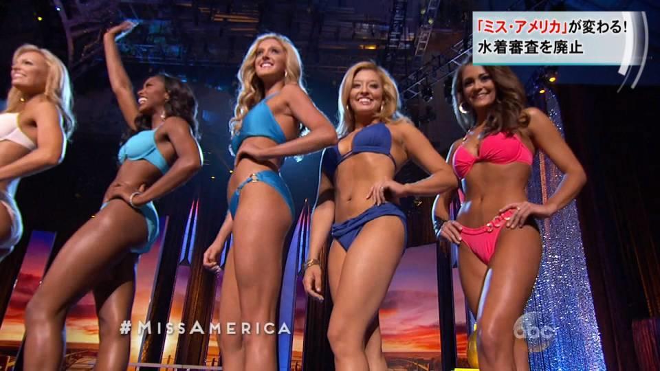 「ミス・アメリカ」が水着審査廃止 / Miss America drops swimsuits competition