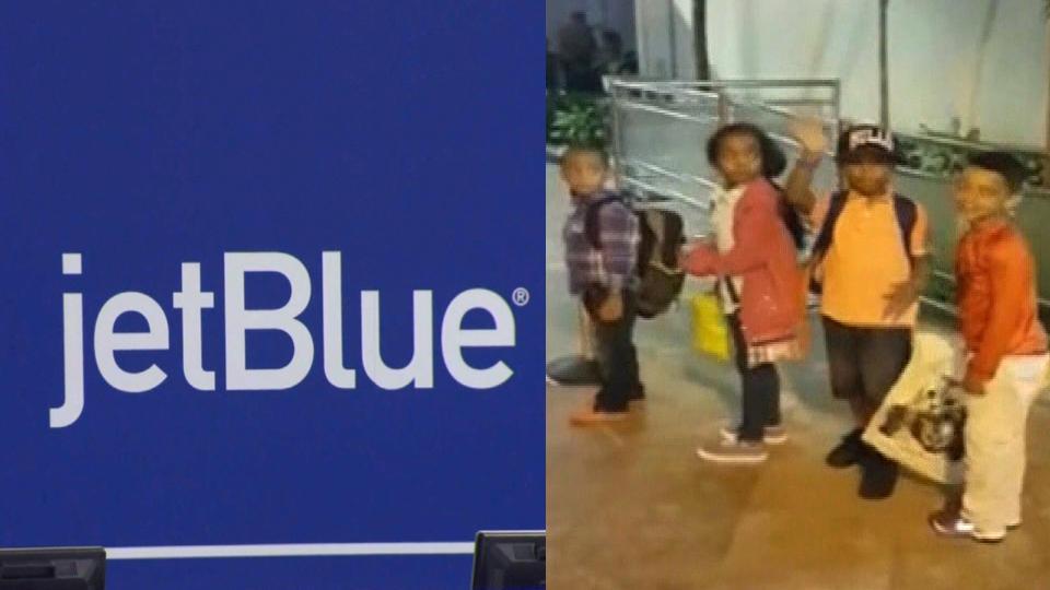 子供が別の空港に到着 航空会社の手違いで
