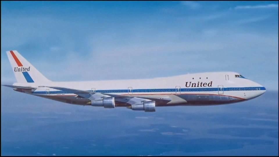 ユナイテッド航空 B747型機最後のフライト