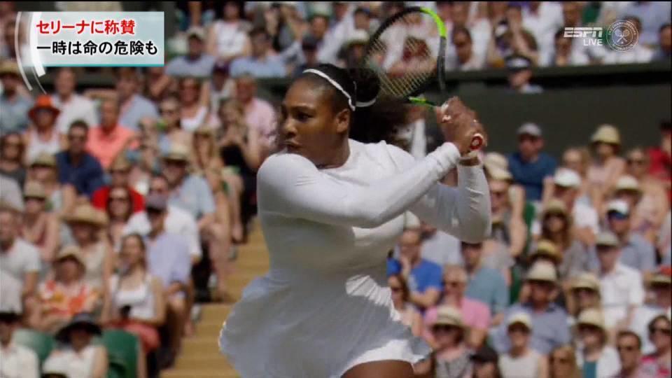 セリーナ 奇跡の復活に称賛の声 / Serena's come back inspires Moms