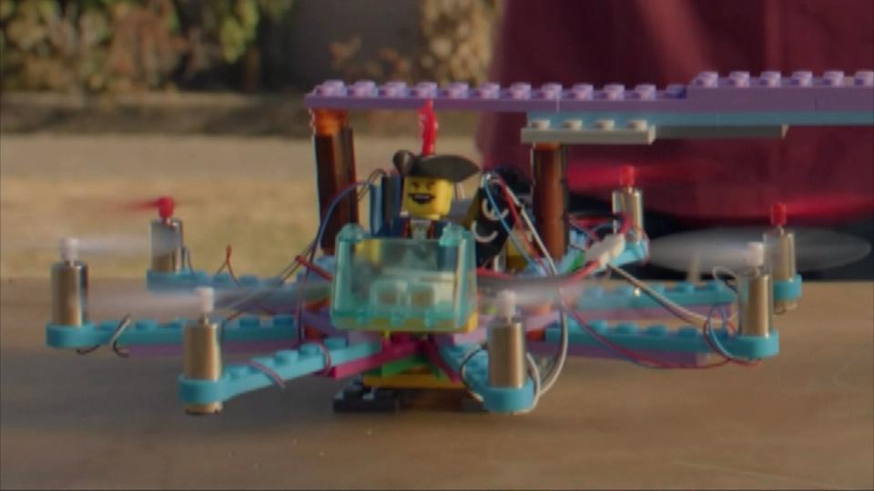 レゴ×ドローン レゴ製ドローン誕生