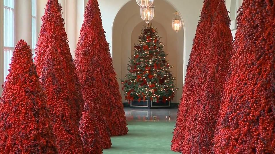 ホワイトハウス恒例の飾り付け / white house decoration