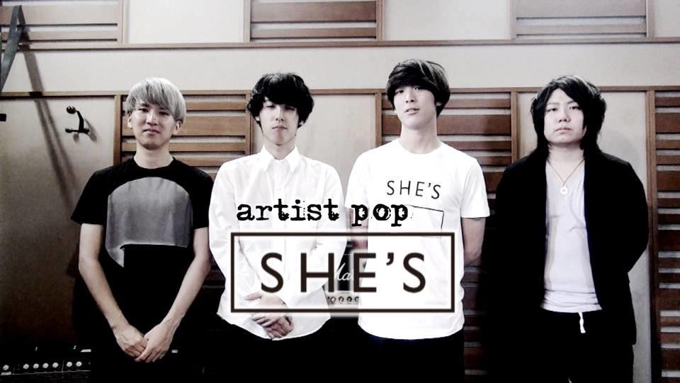 artist pop : SHE'S
