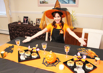 Halloween Oshizushi! (Melodee's Home Party Dishes)