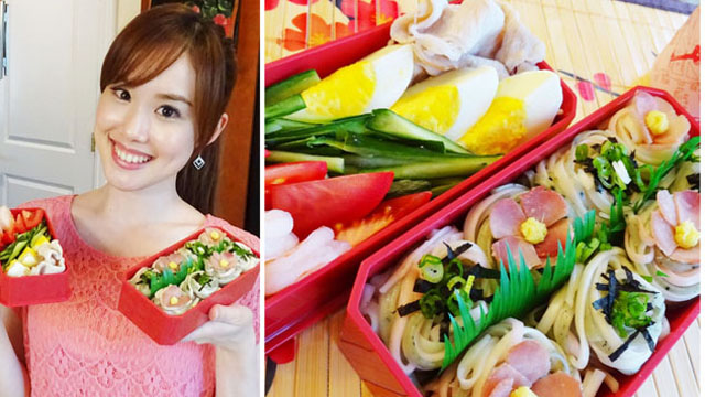 Somen Bento! (Colorful Japanese Cold Noodle) Kawaii Bento #16