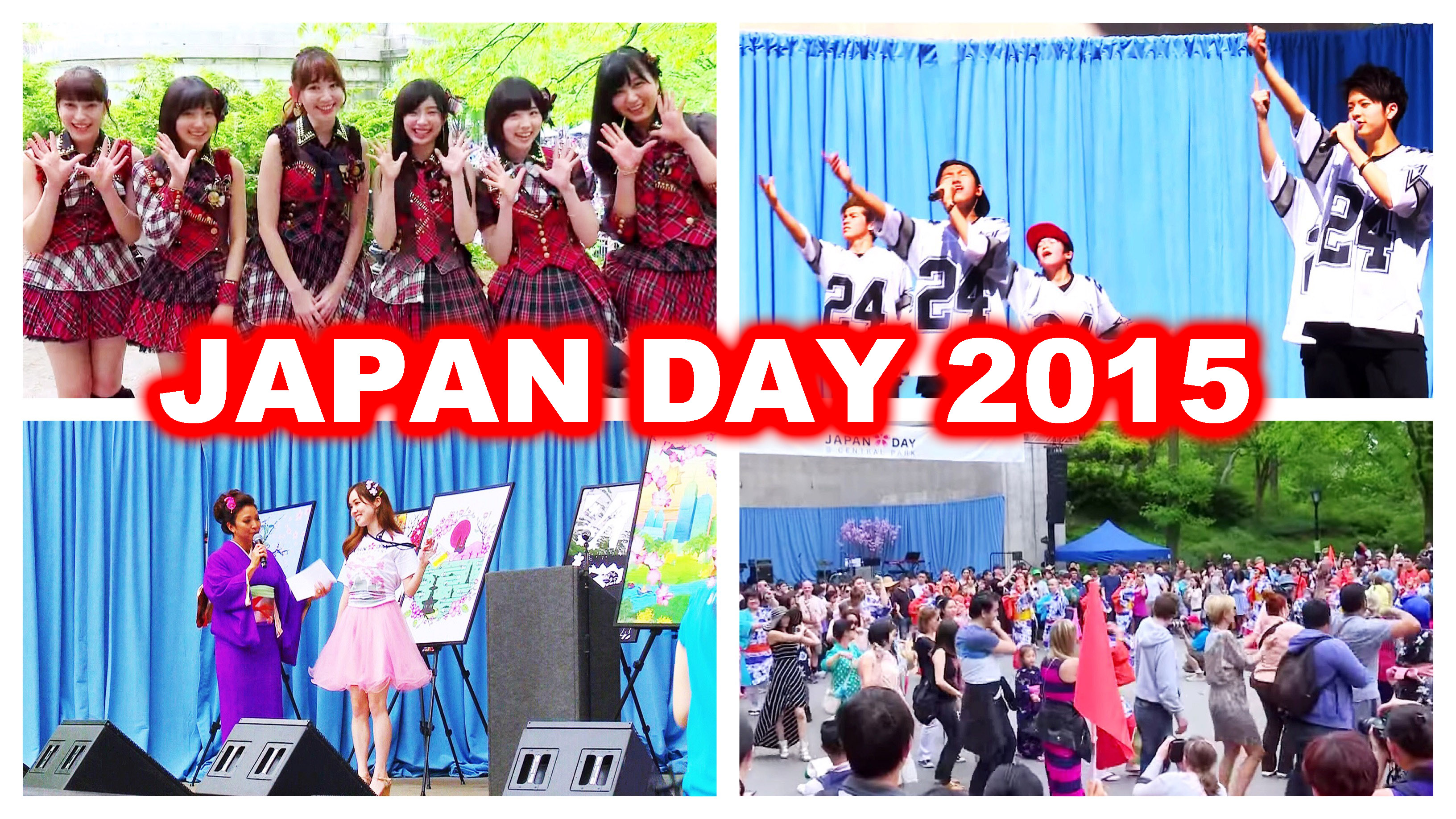 AKB48も参加!日本のお祭り in NY、Japan Day 2015が開催!/ JAPAN DAY 2015!! AKB48 in NY, Stage Performances, & Japanese Culture (Eng subs)