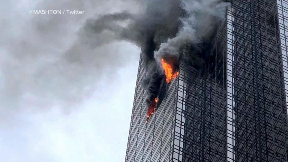 トランプタワー火災でスプリンクラー設置基準に議論  / Installing sprinkler to the high-rise buildings