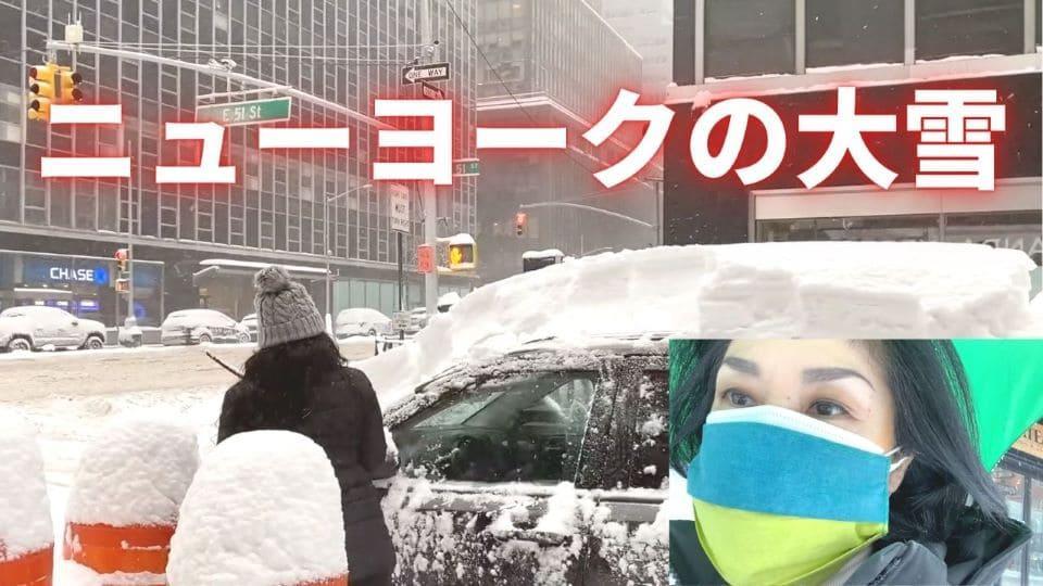 ニューヨークの大雪