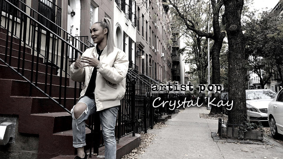 artist pop : Crystal Kay