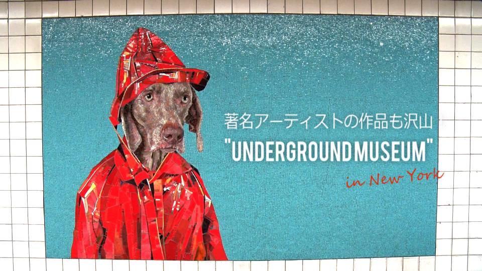 著名アーティストの作品も!NY地下鉄